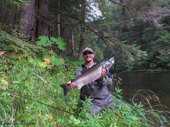 Angoon, AK: Fresh Water Fishing