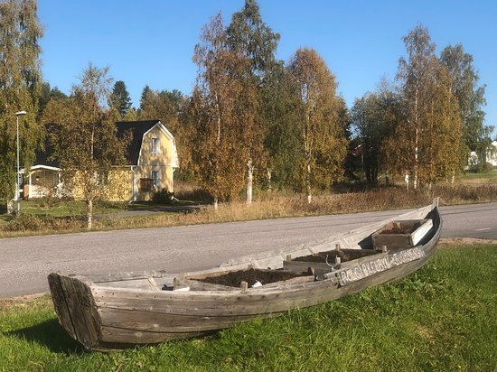 The Arctic Circle in Juoksengi, Övertorneå, Sweden