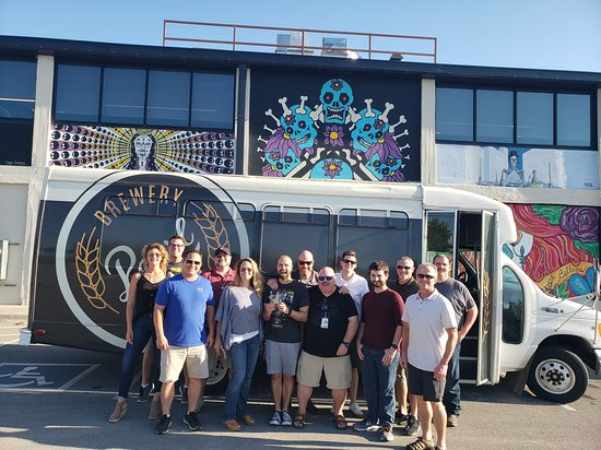 Pearl Brewery Tours : Corporate tours are always a success