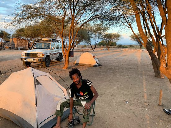Camping with Tribes of Omo River Valley