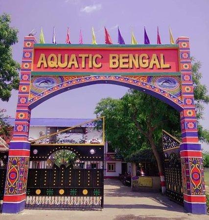 "Malda District, Индия: Entrance of ""AQUATIC BENGAL"" Malda Water Park, Shimuldhab, Dhumadighi, Malda.  West Bengal"
