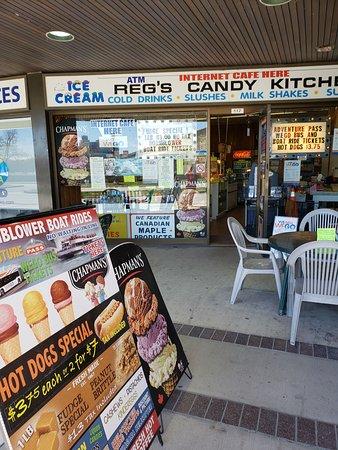 Reg S Candy Kitchen Niagara Falls Restaurantbeoordelingen Tripadvisor