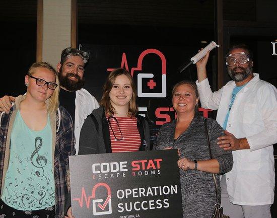 Code Stat Escape Rooms
