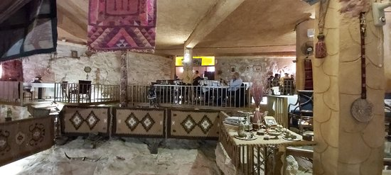 Good food served in an unique ambience