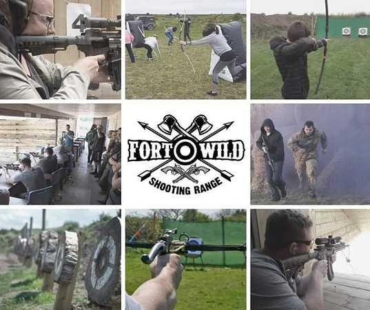 Frodsham, UK: Number 1 Target Sports venue in the North West.