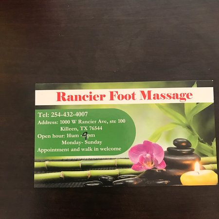 Rancier Foot Massage