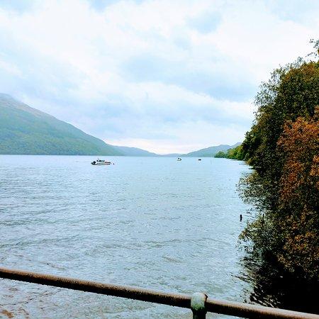 Tarbet, UK: View of lake