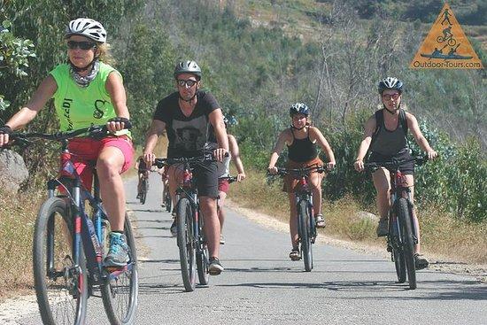 Algarve bergafwaartse fietstocht ...