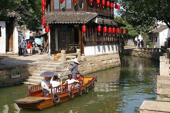 Shanghai til Tongli Watertown privat...