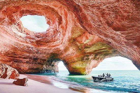 1小时 - 探索洞穴和野生海滩(Benagil...