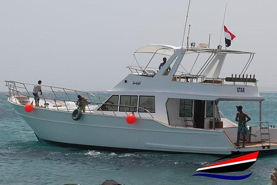 Private 8 hours snorkeling & fishing trip by a charter boat - Seafood - 10P: FULL DAY PRIVATE SNORKELING OR FISHING TRIP FROM HURGHADA