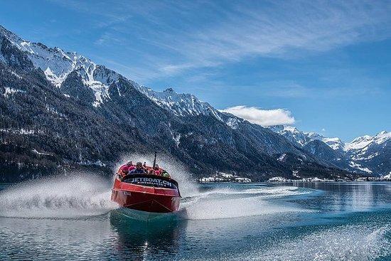冬のジェットボートライド