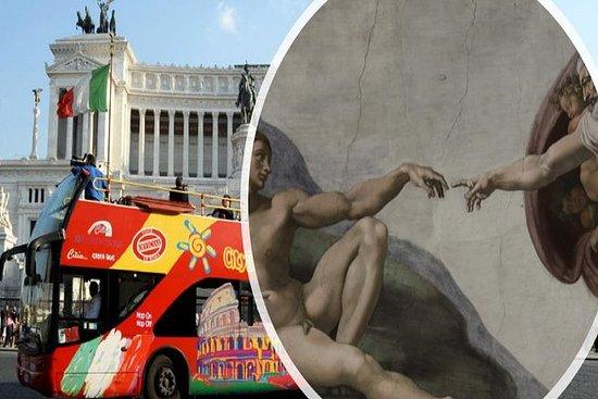 ROMA: musei Vaticani e autobus hop-on