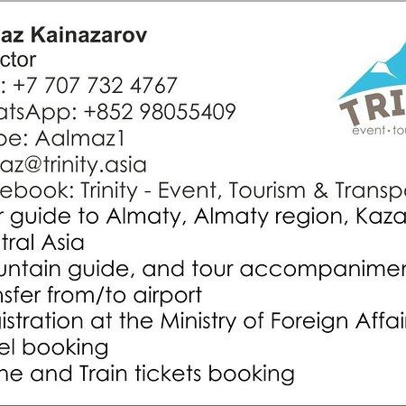 Kaskelen, Kazajistán: Our contacts!