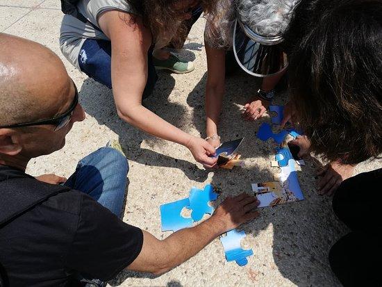 Kfar Haruv: אין כמו חידות על הדרך כדי ליצור ריגוש וגיבוש בטיול מחלקתי