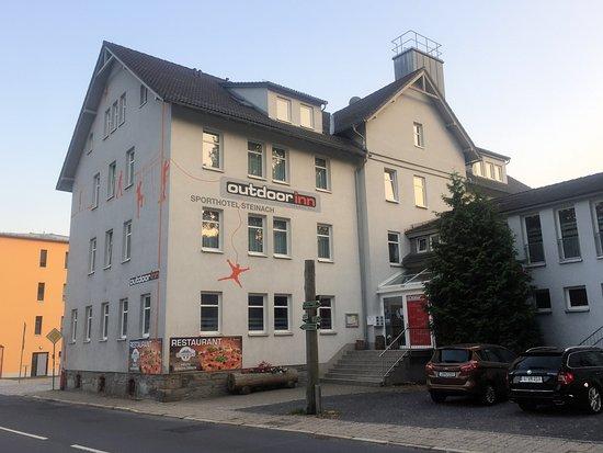 Steinach, เยอรมนี: Hotel - von der Straßenseite