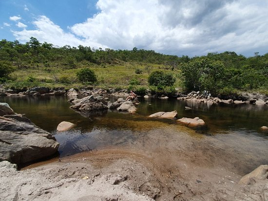 Chapada dos Veadeiros, GO: Lugar com céu aberto para tomar banho de rio
