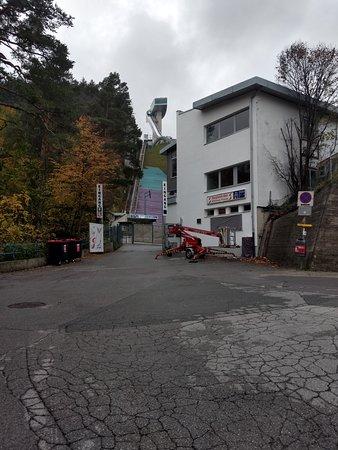 Bergisel Ski Jump Arena Entrance Ticket in Innsbruck: Eingang zur Bergisel Schanze in Innsbruck