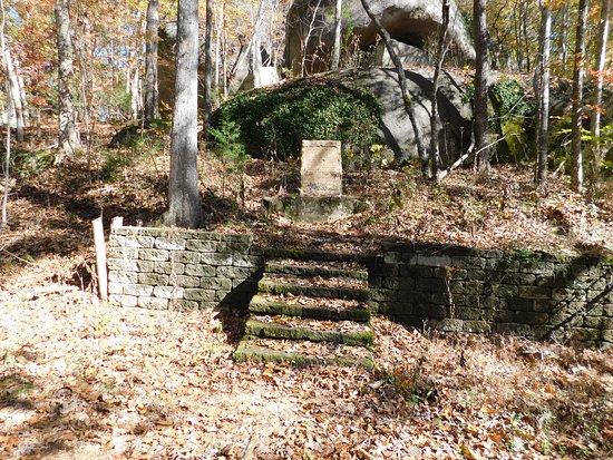 Heath Springs, Carolina del Sur: Informative historical marker