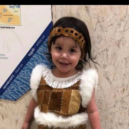 Tulita, Канада: My niece Mary McPherson wins first place in her traditional dress. The Sahtu region has many gifted people making traditional clothing, jewelry, art and crafts.