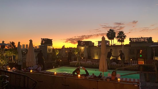 Most memorable hotel in LA