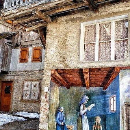 Cibiana di Cadore, Itálie: Il paese dei murales