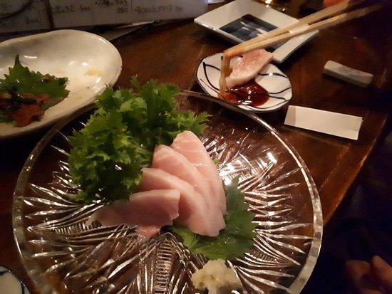 Sahimi (raw fish)