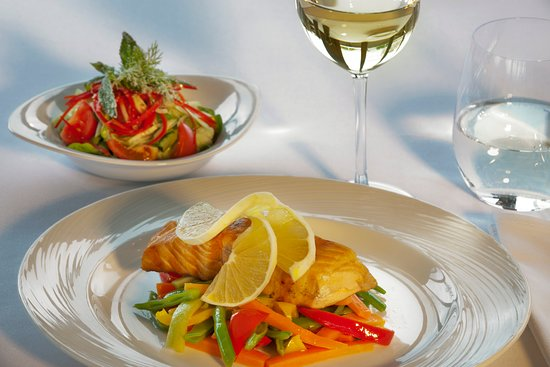a white in a glass or a red, please choose one or both to enjoy your meal