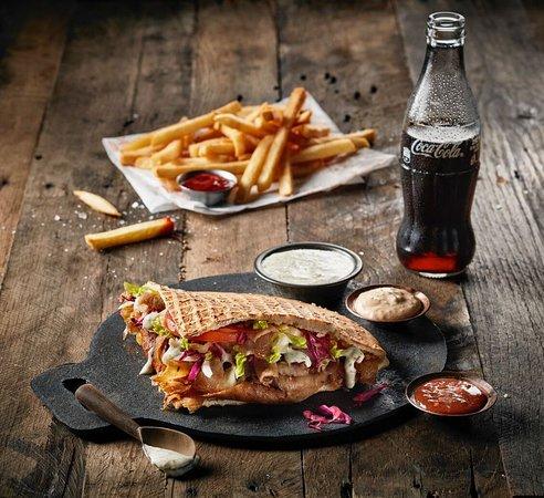 Original German Doner Kebab Meal