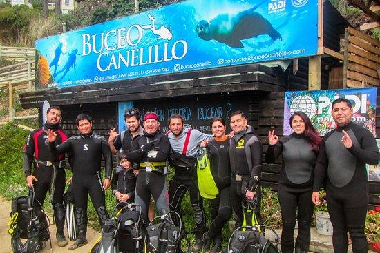 Buceo Canelillo