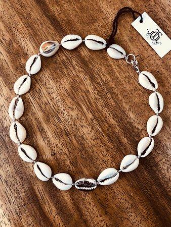 Cowrie shell jewellery