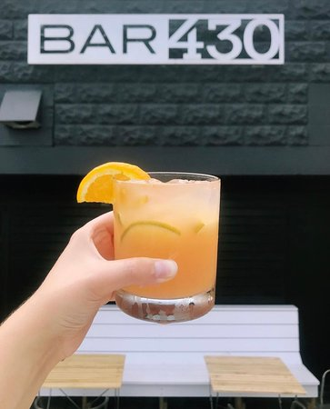 Visit us in summer for our patio seating and delicious cocktails!
