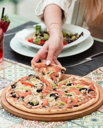 Al Mahallah al Kubra, Египет: pizza wow