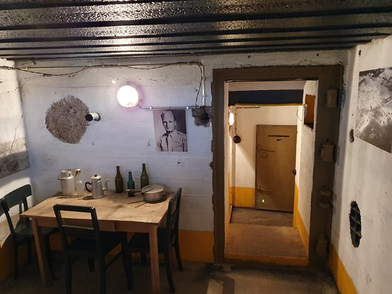 Saint-Marcouf, Fransa: Salle et couloir intérieur