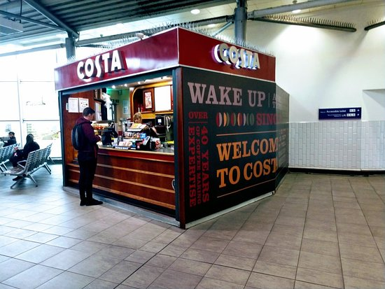 Costa Coffee Piccadilly Station Manchester Menu Prices