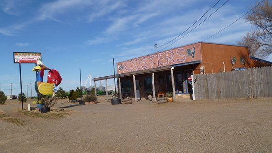 Vega, TX: Noticeable but not inviting
