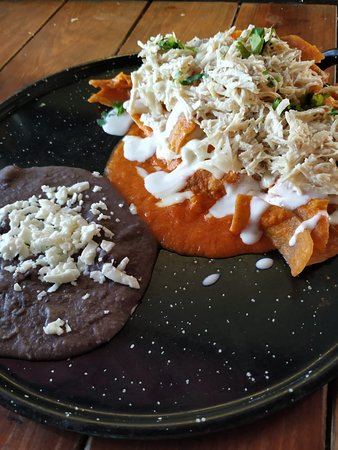 Chilaquiles Rojos  Red Sauce chilaquiles