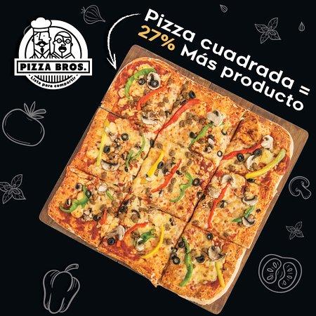 Pizza Bros cuadrada