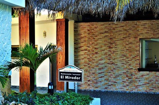 Entrance to the El Mirador Restaurant at Iberostar Bella Costa