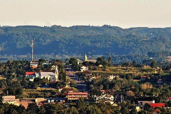 Sao Jose do Hortencio: Vista parcial da cidade.