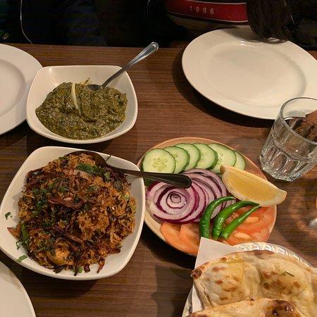 Wonderful food and fantastic service