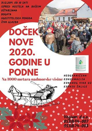 Baske Ostarije, Croatia: Doček Nove godine u podne na Baškim Oštarijama. Vidimo se 31.12.2019.  #baskeostarije #newyearatnoon #likadestination