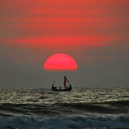 Teknaf, Bangladesh: Sunset