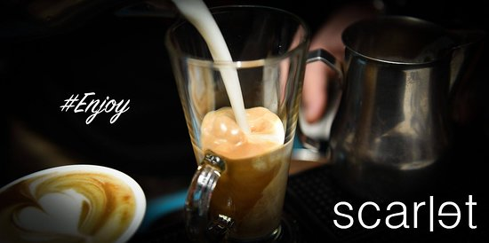 "Scarler Bar: ""Scarlet Bar"" All Day Cafe Not Only A Bar Tel.: 2531-401000 El. Venizelou St. 44 - Komotini E-Mail: thevnd@gmail.com"