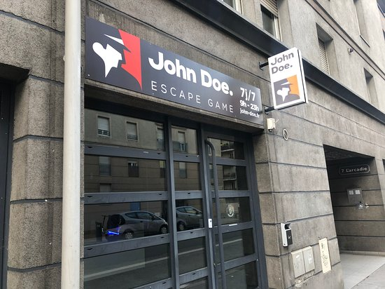 John Doe Escape Game