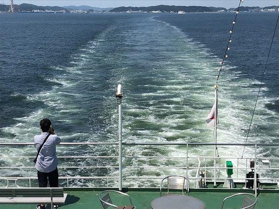 Great day trip across Tokyo Bay.