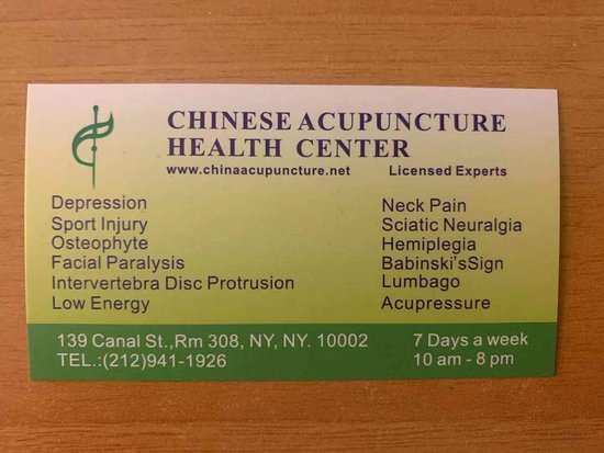 China Acupuncture