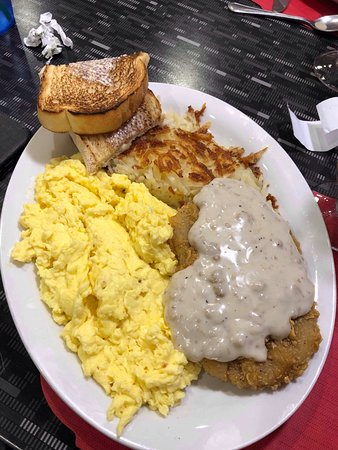 Country Fried Steak Breakfast Picture Of Dave S Diner Erie Tripadvisor