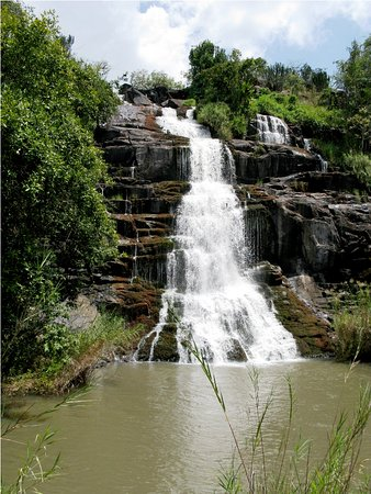 Located in Pader,386km from  Kampala city, the water falls are a very vibrant sight to watch as water gushes down the rocks.