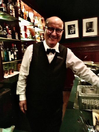 The Duke's bar manager, the classy Mr. Gerard Bouidghaghen